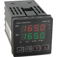 Series 16C 1/16 DIN Temperature Controller