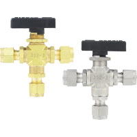 Series 3MSV Compact 3-Way Ball Valve
