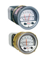 Series 43000 Capsu-Photohelic® Pressure Switch/Gage