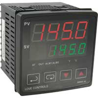 Series 4C 1/4 DIN Temperature Controller