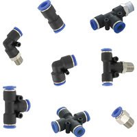 Series A-3000 Quick Connect Pneumatic Fittings