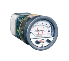 Series A3000 Photohelic® Pressure Switch/Gage