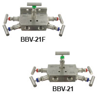Series BBV-2 5-Valve Block and Bleed Manifold