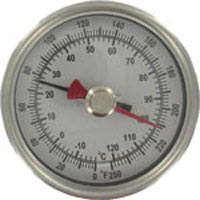 Series BTM3 Maximum/Minimum Bimetal Thermometer