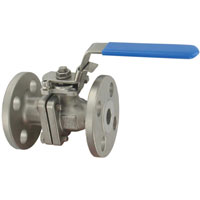 Series BV2FH Two-Piece Stainless Steel Flange Ball Valve
