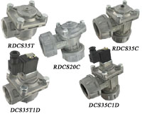 Series DCS/RDCS Springless Diaphragm Valves