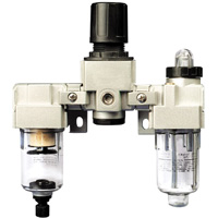 Series FRL Filter, Regulator and Lubricator