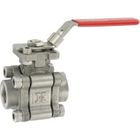 Series HBV Hastelloy® C Ball Valve