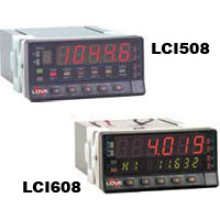 Series LCI508 & LCI608 Digital Panel Meter