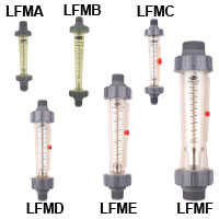 Series LFM Polycarbonate Flowmeters