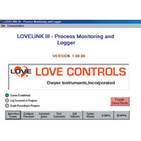 Model LoveLink™III Configuration Monitoring & Logging Software