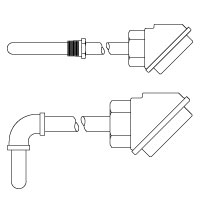 Series 7 Protection Tube Assembly Thermocouple and Replacement Thermocouple Elements