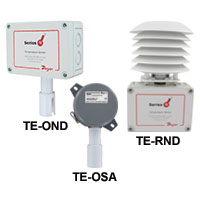 Series TE-OND/TE-RND/TE-OSA Outdoor Temperature Sensors