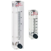 Range 1-10 SCFM Air 10 Scale Dwyer Instruments RMC-121 Dwyer Rate-Master Series RM Flowmeter 10 Scale