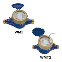 Series WM2 & WMT2 Multi-Jet Water Meter