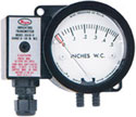 Series 604D Minihelic® Differential Pressure Indicating Transmitter