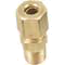 Compression fitting, brass 1/8