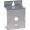 Stand-hang bracket, aluminum, for Minihelic® II gage.