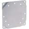 Surface mounting plate, aluminum, for Magnehelic® gage.
