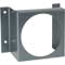 Flush mount bracket used with: Photohelic® 3000MR/MRS, Capsuhelic®, 631B Transmitter, EDA. Bracket is then surface mounted. Steel with gray hammertone epoxy finish.