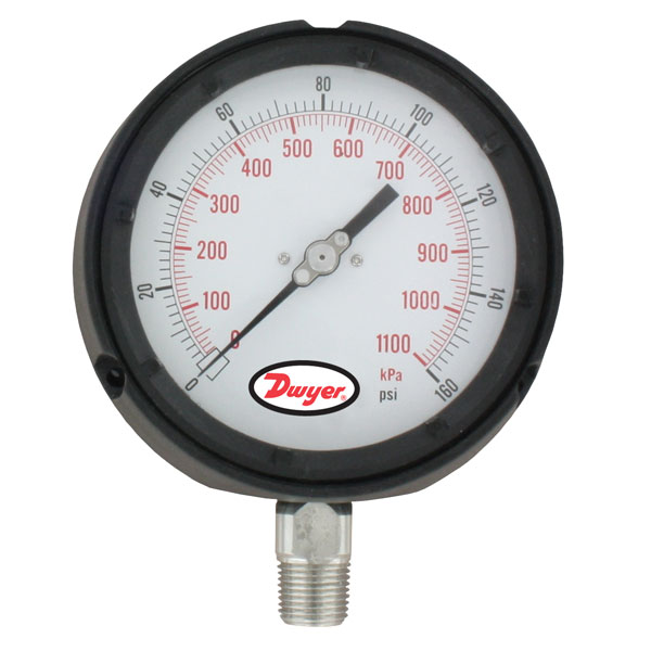 Series 765 Process Gage with Dampened Movement