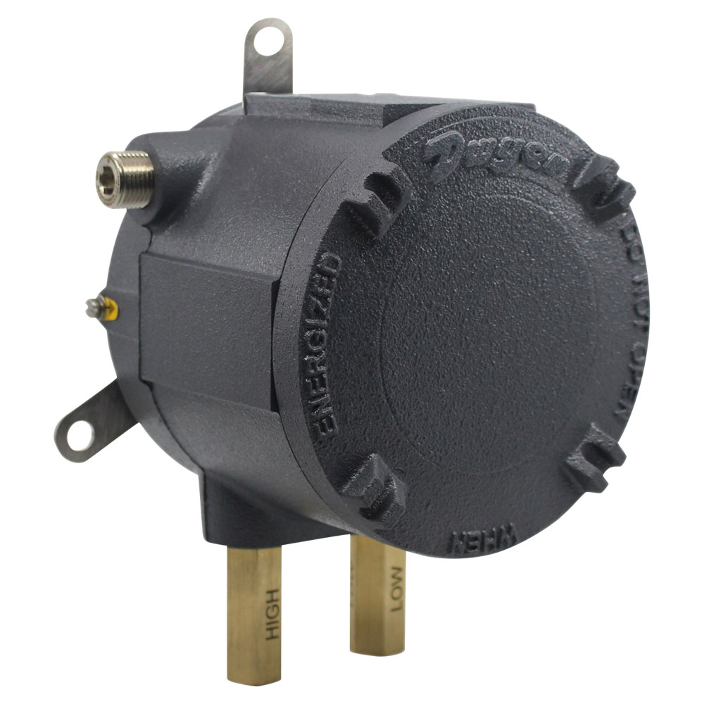 Series AT-1900 ATEX/IECEx Approved Compact Low Differential Pressure Switches