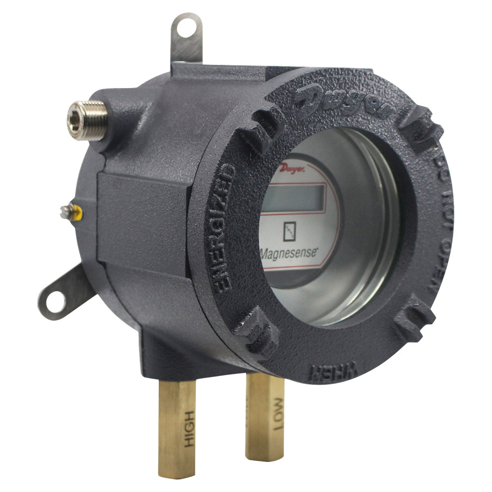 Series AT-MS ATEX/IECEx Approved Magnesense® Differential Pressure Transmitter