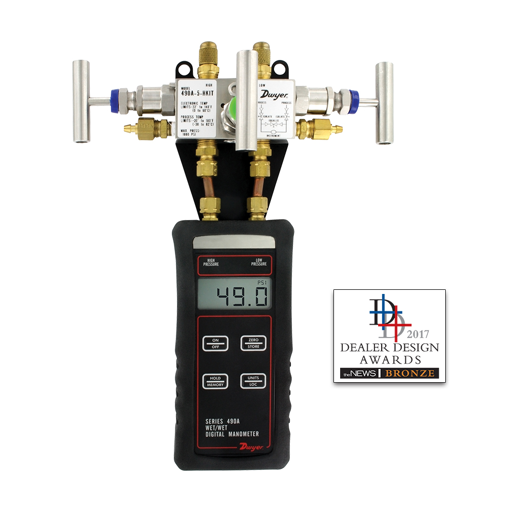 Series 490A Hydronic Differential Pressure Manometer