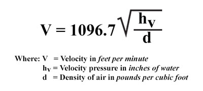 Duct Traversing for Average Air Velocity and Air Volume
